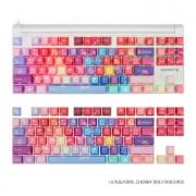 CHERRY 樱桃 MX8.0 87键机械键盘 白光红轴 + irocks i石头 绚丽蓝限定版 PBT键帽 套装 1679元包邮(需用券)¥1679