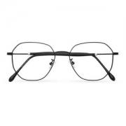 潮库 9144 钛合金细框近视眼镜+1.61非球面防蓝光镜片*2片68元包邮(需用券)