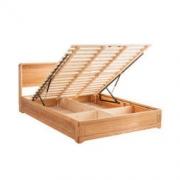 京造 现代简约实木储物床(带床箱) 1.5m3699元