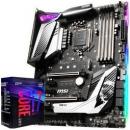 msi 微星 MPG Z390 GAMING PRO CARBON 主板 + intel 英特尔 i7-9700K 盒装处理器 套装4199元