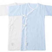 Purcotton全棉时代婴儿纱布连体服长款2件装*2件+凑单品