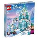 LEGO 乐高 迪士尼公主系列 43172 艾莎的魔法冰雪城堡511.2元