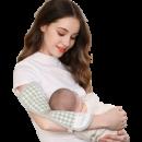 JOYNCLEON 婧麒 婴儿苎麻手臂枕 *2件 19元包邮(需用券,合9.5元/件)¥19