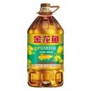 金龙鱼纯香低芥酸菜籽油5L/瓶 食用油菜油 物理压榨 非转基因56.9元包邮