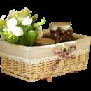 宜然家居 手工编织桌面收纳盒 14.9元包邮(需用券)¥15