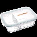 iCook 耐热玻璃分隔饭盒 1020ML 16.8元包邮(需用券)¥17