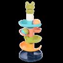 知贝 婴儿早教益智玩具 转转叠叠乐 17.9元包邮(需用券)¥18