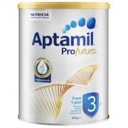Aptamil 爱他美 白金版 幼儿配方奶粉 3段 900g 新西兰版200元