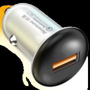 Newsmy 纽曼 S-C0725 车载充电器 QC3.0快充 9.8元(需用券)¥10