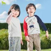 小米生态链 稚行 儿童单向导湿科技长袖T恤