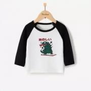 TINSINO 纤丝鸟 儿童长袖T恤*2件