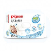 pigeon贝亲Pl346婴儿柔湿巾100片装3连包*6件