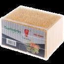 麦天 盒装竹制牙签 3500支 3.9元(需用券)¥4