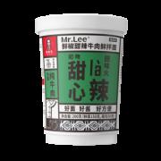 Mr.Lee 李先生 黑蒜牛肉干伴面 200g*5杯 42.5元包邮(需用券)¥43