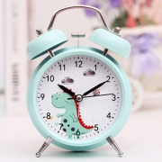 超大声音小闹钟学生用静音床头夜光儿童创意北欧简约卧室钟表闹铃15.9元