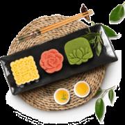 第二件半价 知味观绿豆糕杭州特产传统美食抹茶零食 券后¥9.9