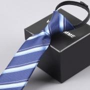 VIRIL HOMME  F29 男士免打结领带  8cm拉链款 2.9元包邮(需用券)