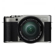 FUJIFILM 富士 X-A5 无反相机套机(XC 16-50mm F3.5-5.6 OIS II)深银色2799元包邮