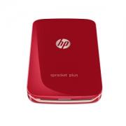 HP 惠普 小印 Sprocket PLUS 口袋照片打印机 红色