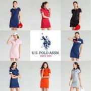 U.S POLO ASSN 女士 POLO领连衣裙