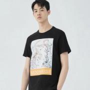 GXG 182144011 男士针织T恤