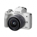 Canon 佳能 EOS M50 微单相机 数码相机 微单套机 白色4199元