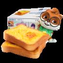 天猫 10点:三只松鼠 岩烧乳酪吐司520g/整箱 14.95元包邮(前500件)¥30