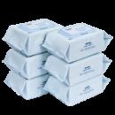 第二件32元 安慕斯婴儿手口专用湿纸巾带盖80抽*6包 券后¥61¥61