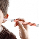 MOYOU 不锈钢发光挖耳勺 带两个软勺头+2节电池*2件9.9元包邮(需用券)