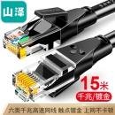 SAMZHE 山泽 WD6150 CAT6六类 网线 15米 24.8元¥25