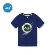 361童装男童T恤夏装2020夏季新款中大童短袖361度儿童半袖上衣潮39元