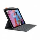 iPad秒变笔记本:Logitech 罗技 Slim Folio 键盘保护套 适配iPad Air3599元包邮(京东799元)