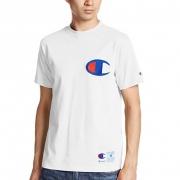 冠军(Champion)男士大logo短袖T恤