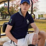 LG时装旗下中高端品牌 Hazzys 哈吉斯 男士商务休闲Polo衫