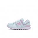 New Balance nb童鞋 女童4~14岁 花朵系列透气儿童运动鞋YV574K199元