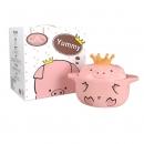 HEYJUZU 嘿猪猪 陶瓷锅 600ml辅食锅49元包邮(需用券)