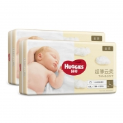 HUGGIES好 奇金装婴儿纸尿裤 L号129片*2件318元包邮(需用券,合159元/件)