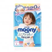 moony 尤妮佳 畅透系列婴儿纸尿裤 L4 4.9元包邮¥5