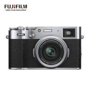 富士(FUJIFILM) 数码相机旁轴相机 X100V 银色