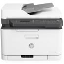 HP 惠普 179fnw锐系列新品彩色激光多功能一体机四合一打印复印扫描传真自动进稿器 M177fw升级网络无线