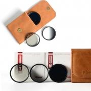 Kase 卡色 UV保护镜+ND8减光镜+CPL偏振镜 40.5mm套装 190元包邮(需用券)