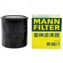 MANN 曼牌 W68/1 机油滤清器 丰田/吉利车型可用15.05元