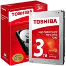 88VIP:TOSHIBA 东芝 P300系列 7200转 64M SATA3 台式机硬盘 3TB 439元包邮(需用券)¥439