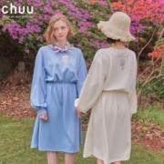 chuu AHB1238Y 卡通卫衣连衣裙 低至179.9元/件¥180