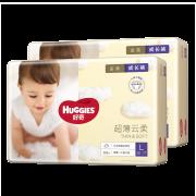 88VIP:HUGGIES 好奇 金装成长裤 L124片 *2件 211.85元包邮(合105.93元/件)