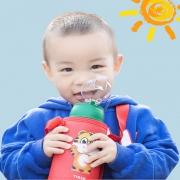 送杯刷和漂亮杯套 明霞 儿童吸管智能保温杯 券后¥34¥34