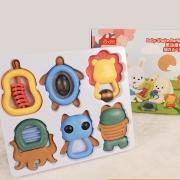 TUMAMA KIDS  婴儿抓握训练玩具套盒 14.9元包邮¥15