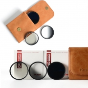Kase 卡色 UV保护镜 ND8减光镜 CPL偏振镜 40.5mm套装 190元包邮(需用券)