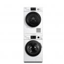 LittleSwan 小天鹅 TG100VT86WMAD5 + TH100VTH35 烘干机 洗烘套装 (白色、10kg)