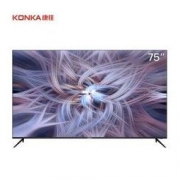 61预售:KONKA 康佳 75D6S 75英寸 4K液晶电视